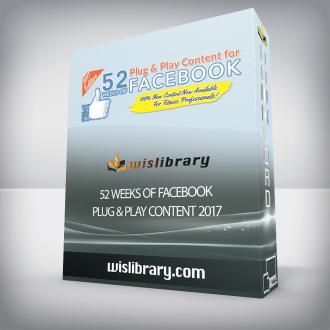 52 Weeks of Facebook Plug & Play Content 2017