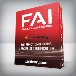 FAI: Functional Aging Specialist Certification