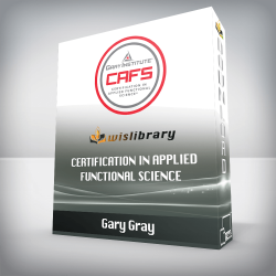 Gary Gray – Certification in Applied Functional Science