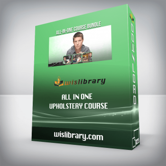 All In One Upholstery Course