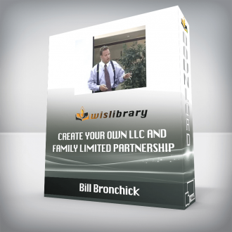 Bill Bronchick – Create Your Own LLC and Family Limited Partnership