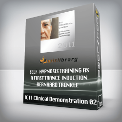 IC11 Clinical Demonstration 02 – Self-Hypnosis Training as a First Trance Induction – Bernhard Trenkle