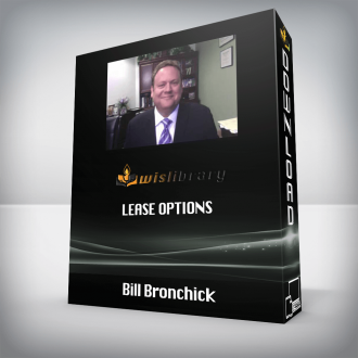 Bill Bronchick – Lease Options