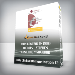 BT03 Clinical Demonstration 12 – Pain Control in Brief Therapy – Stephen Lankton, MSW, DAHB