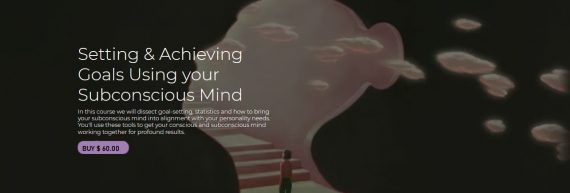 Thais Gibson - Setting & Achieving Goals Using your Subconscious Mind