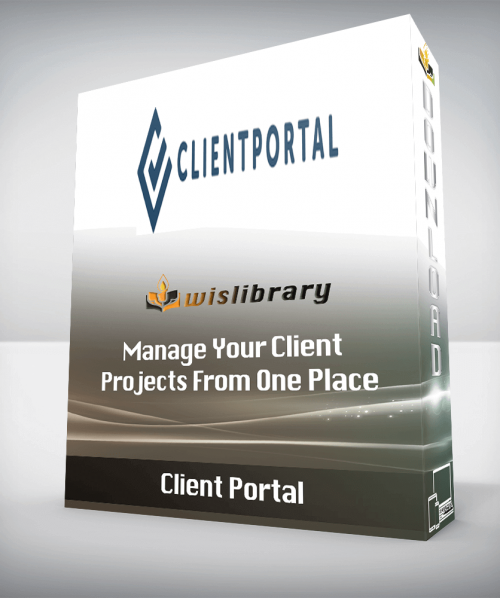 Client Portal - Manage Your Client Projects From One Place