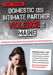 Katelyn Baxter-Musser - Domestic and Intimate Partner Violence in Maine