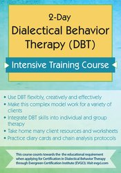 Lane Pederson - 2-Day Dialectical Behavior Therapy (DBT) Intensive Training